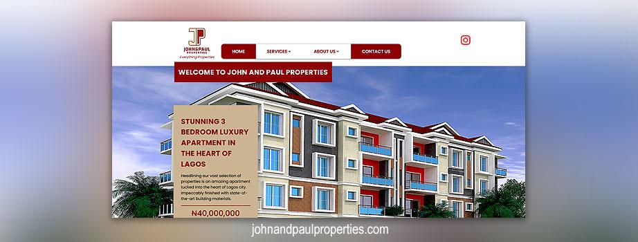 John and Paul Properties Ltd