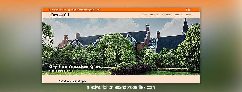 Maxiworld Properties and Homes Ltd